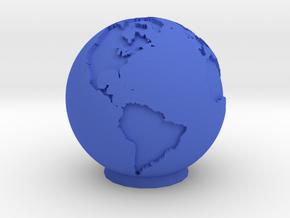 Ceramic Earth in Blue Processed Versatile Plastic