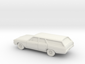 1/87 1964-67 Buick Skylark Station Wagon in White Natural Versatile Plastic