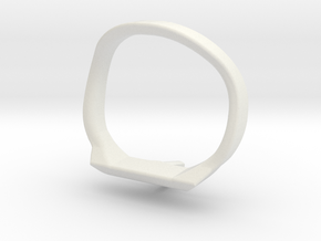 ErgoCurve in White Natural Versatile Plastic
