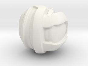 1:6th Custom Head for Devil Toys, and True Type Fi in White Natural Versatile Plastic