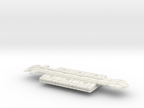 Freighter Class 6 in White Natural Versatile Plastic