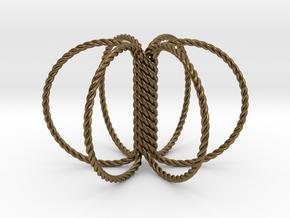 6 Ring Harmonizer Coil in Natural Bronze