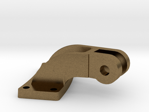 "3/4"" scale smoke box door hinge in Natural Bronze"