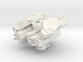 Cargo Storm Apollo Spaceship in White Natural Versatile Plastic