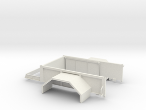 Expedition Bed in White Strong & Flexible