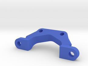 Team associated B5/B6 Front Wing Mount in Blue Strong & Flexible Polished