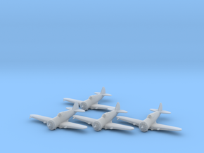 Curtiss P-36 'Hawk' 1:200 x4 FUD in Smooth Fine Detail Plastic