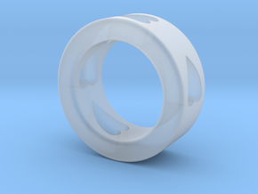 LOVE RING Size-4 in Smooth Fine Detail Plastic