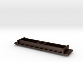 Mogul - Center Pin Crosstie - .625 Plus 1% in Matte Bronze Steel