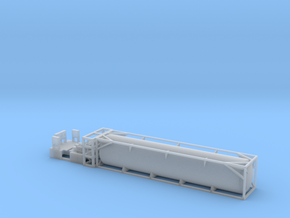 FEC LNG Tank - HOscale in Smooth Fine Detail Plastic