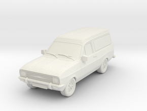 1:87 Escort mk 2 2 door van hollow in White Strong & Flexible