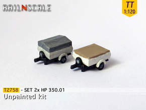 SET 2x HP 350.01 (TT 1:120) in Smooth Fine Detail Plastic