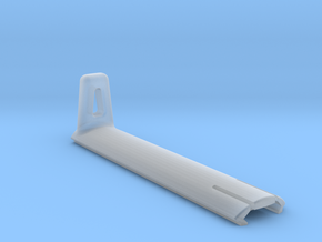 Picatinny rail cover with handstop in Smooth Fine Detail Plastic