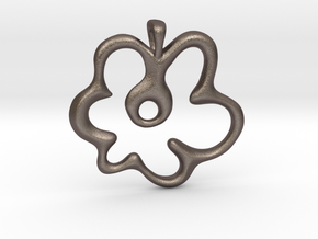 Gemini Flower in Stainless Steel: Small