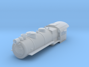 PRR H8 TT Scale Shell  in Smooth Fine Detail Plastic