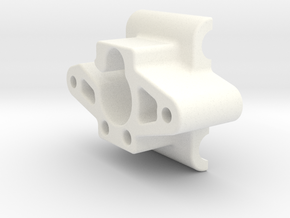 WRC Wing Mount Adapter in White Processed Versatile Plastic