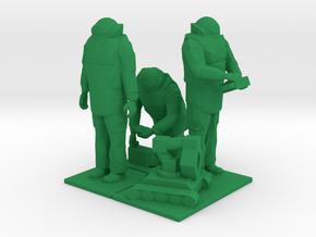 Explosive Ordinance Disposal, EOD Team 1, 1/64 in Green Processed Versatile Plastic