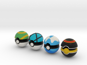 Pokeballs (Set 05) in Full Color Sandstone