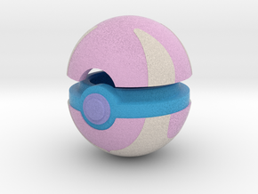 Pokeball (Heal) in Full Color Sandstone