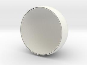 MoonLight-D140 in White Natural Versatile Plastic