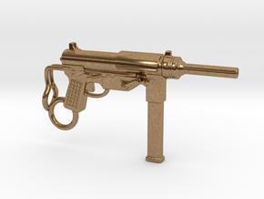 Submachine Gun M3 in Natural Brass