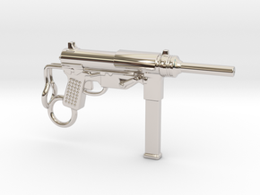 Submachine Gun M3 in Platinum