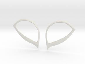 Insomniac Spiderman Lenses in White Natural Versatile Plastic