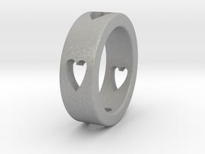 LOVE RING Size-11 in Aluminum