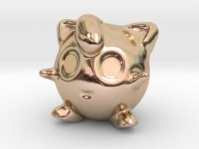 Jigglypuff in 14k Rose Gold