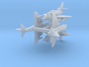A-4F w/Gear x4 in Smooth Fine Detail Plastic: 1:700