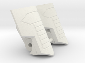 "Medic Knee Pads ""MTMTE"" Mk.I in White Natural Versatile Plastic"