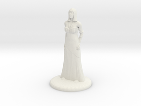 Hathor - 25mm in White Natural Versatile Plastic