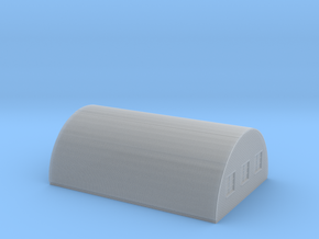 Nissen Hut 24ft Span 6 Bay N Gauge Brick Ends in Smooth Fine Detail Plastic