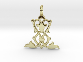 Nature No.2 in 18k Gold Plated Brass