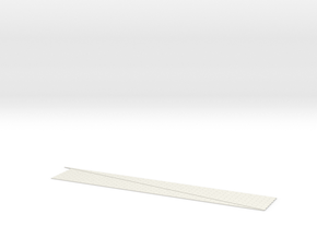N Terre Armee Slopes 400x60+420x60 in White Natural Versatile Plastic