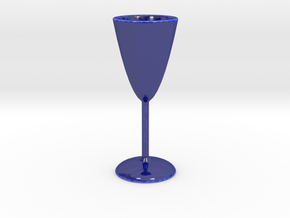 Parabolic Shot Glass - FUNDRAISER in Gloss Cobalt Blue Porcelain