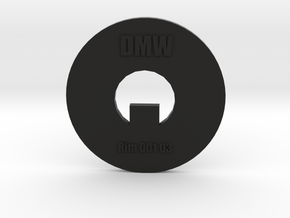 Clay Extruder Die: Rim 001 03 in Black Natural Versatile Plastic