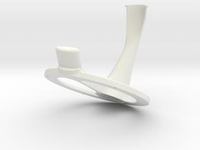 Oculus Rift CV1 Desktop Mount in White Strong & Flexible