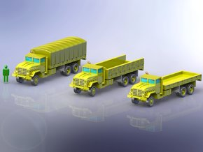 US M927 Trucks 1/285 in Smooth Fine Detail Plastic