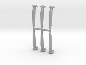 Kupplungsbolzen 1:13,3, 6 Stück in Aluminum