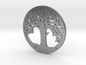 Árvore da Vida in Natural Silver