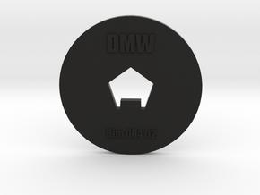 Clay Extruder Die: Rim 004 02 in Black Natural Versatile Plastic