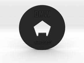 Clay Extruder Die: Rim 004 03 in Black Natural Versatile Plastic