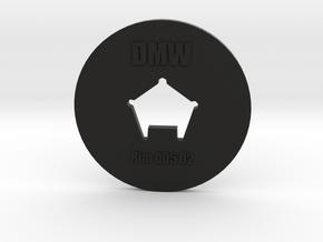Clay Extruder Die: Rim 005 02 in Black Natural Versatile Plastic
