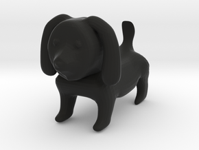 Cone's Doggie in Black Natural Versatile Plastic