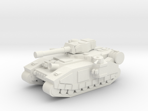 [5] Super-Heavy MBT in White Natural Versatile Plastic
