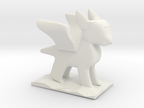 Chander's Dragon in White Natural Versatile Plastic