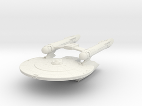 Geronmo Class  V   New Axanar Ship  in White Strong & Flexible