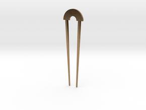 Hairpin - The Loft Hair Salon in Raw Brass