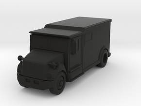 Armored Truck (Solid), 1/64 in Black Strong & Flexible